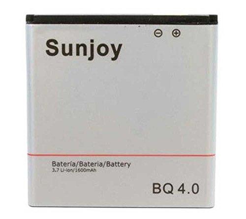 Todobarato24h Bateria Compatible con BQ AQUARIS 4, 4.0 1600 mAh (NO Valida Compatible con BQ E4)