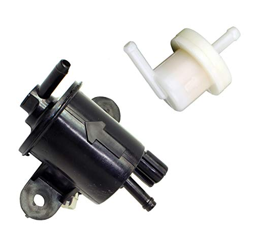 ZOOM ZOOM PARTS NEW FUEL PUMP AND FUEL FILTER FOR 2003 2004 2005 2006 2007 2008 2009 2010 2011 2012 2013 2014 2015 2016 2017 2018 HONDA RUCKUS 50 NPS50