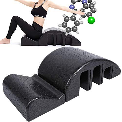 Nannday Corrector de la Columna de Pilates, Yoga Fitness Vértebra Cervical Masaje Entrenamiento Dispositivo de tracción Alineación Cervical Posterior para el Alivio de la presión Corporal Relajarse