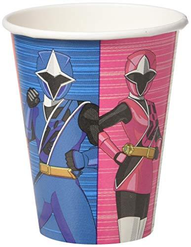 Power Rangers Ninja Steel 9oz Paper Party Cups, 8-Pack