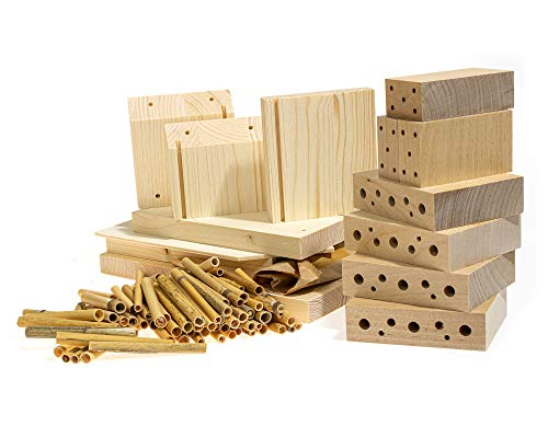 Insektenhotel-Bausatz aus zertifiziertem Holz - 2