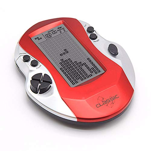 Consoles De Jeux Portable Retro 3 Pouces Non Répétitif 26 Jeux Classiques Console Grand Cadeau pour Enfants Amis,Rouge
