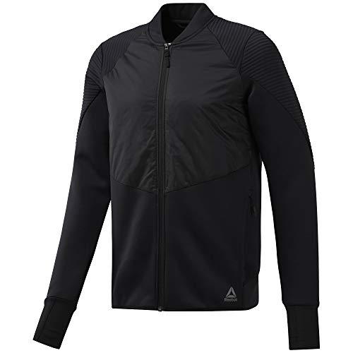 Reebok Herren Thermowarm Padded Jacket Weste, Schwarz, L