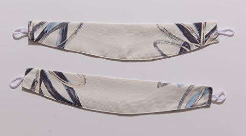 ナイスデイ IN-FA-LA 北欧デザイン 遮光カーテン 枚組(遮熱 保温 形状記憶) 100×178cm ブルー 487540