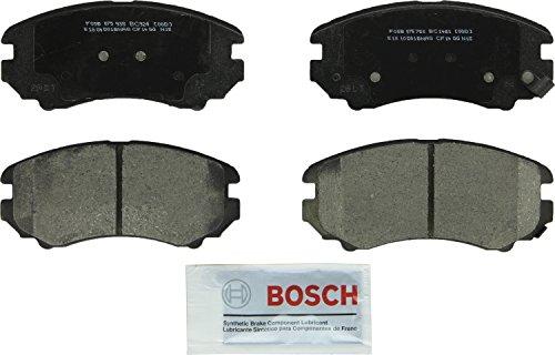 Bosch BC1421 QuietCast Premium Ceramic Disc Brake Pad Set For Select Buick Cascada, LaCrosse, Regal;...