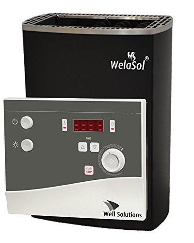 WelaSol® Saunaofen Set WelaSol M 7,5 kW mit K4-Steuerung
