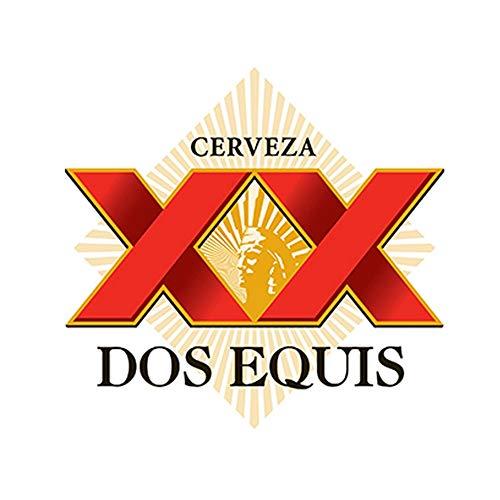 13cm x 12.3cm DOS EQUIS Adesivo Adesivo Birra messicana Cerveza Paraurti Bar Adesivo per auto da parete Accessori per auto