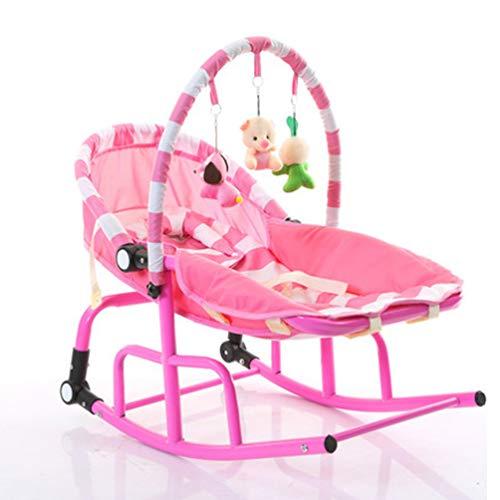 XGYUII Baby Rocker Baby Comfort Bounce Swing Chair Zachte peuter Cradle Seat Auto Sleep Bed Geschikt vanaf pasgeboren geboorte 0-3 oud