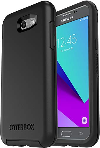 OtterBox Symmetry Case for Samsung Galaxy J3(2017)/Galaxy Express Prime 2/Galaxy Amp Prime 2/Galaxy Sol 2/Galaxy J3 Emerge/Galaxy J3 Prime/Galaxy J3 Luna Pro - Non-Retail Packaging - (Black)