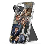 Phone Case Cover Johnny Funny Depp Clear Waterproof Pc TPU Compatible for iPhone 6 6s 7 8 X Xs Xr 11 12 Se 2020 Pro Max Plus