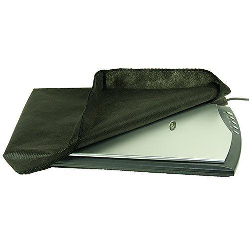 ROTRi® maßgenaue Staubschutzhülle für Flachbettscanner Epson Perfection V370 Photo - schwarz