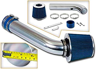 Rtunes Racing Short Ram Air Intake Kit + Filter Combo BLUE Compatible For 98-02 Chevy Cavalier / 98-02 Pontiac Sunfire 2.2L L4 OHV …
