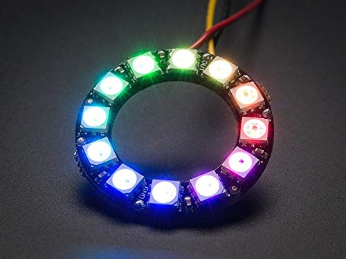 Adafruit NeoPixel Ring - 12 x 5050 RGB LED with Integrated Drivers [ADA1643]
