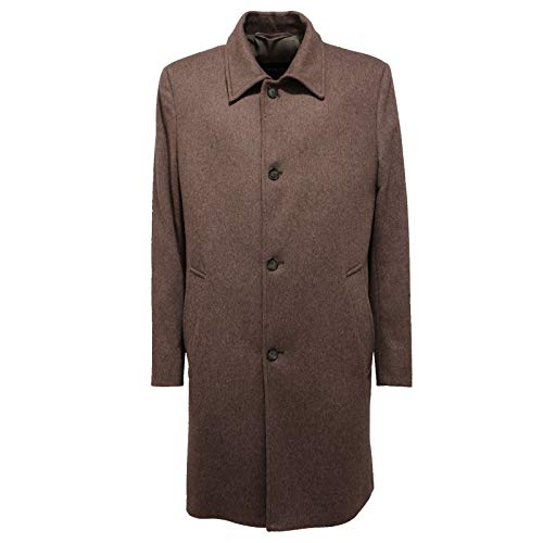 Schneiders 1142AC Cappotto Uomo HATTO Wool Brown Jacket Coat Men [50]