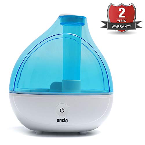 Ultrasonic Cool Mist Humidifier 1500 ml, with Up to 16 Hours...