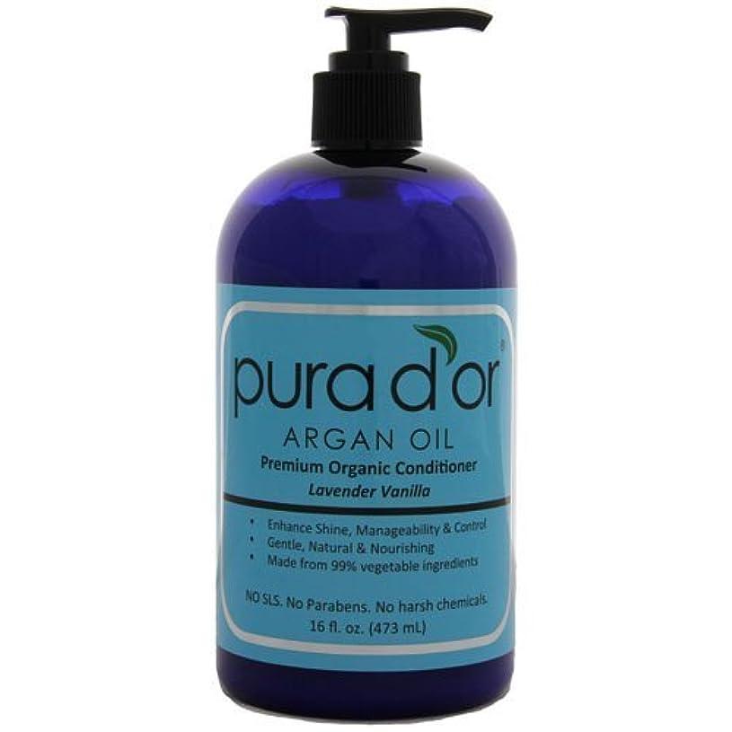 中世のラジエーター旋律的Pura d'or: Premium Organic Argan oil Conditioner for Hair (16 fl. oz.) by Pura D'or [並行輸入品]