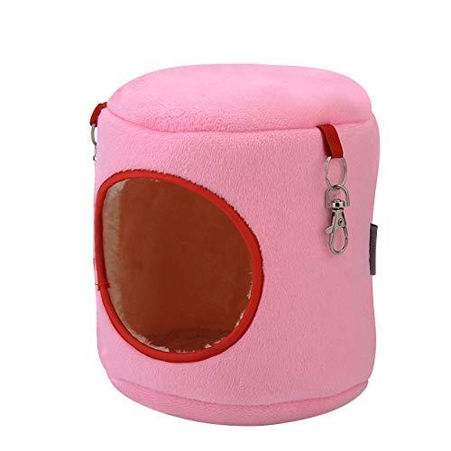 xihan123 Amaca per Gatti Facile da Trasportare della Gabbia del Criceto Materiali di Alta qualità Amaca Gatto per Rilassati E Gioca Liberamente Sollievo Dall'ansia Pink,9
