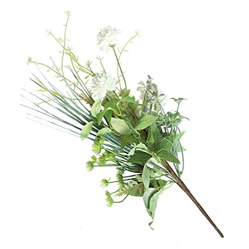 Blossom Artificial Flower with Leaves Simulation Flower bouquet artificial flower Bouquet Home Office Table Centerpiece Floral Decoration Branches