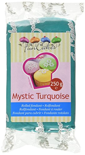 FunCakes Pasta di Zucchero Turchese - 250 gr