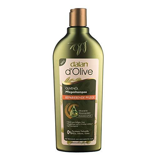 DALAN Shampooing à l'huile d'olive 400 ml - Usage fréquent-Renforce léquilibre naturel du cheveux