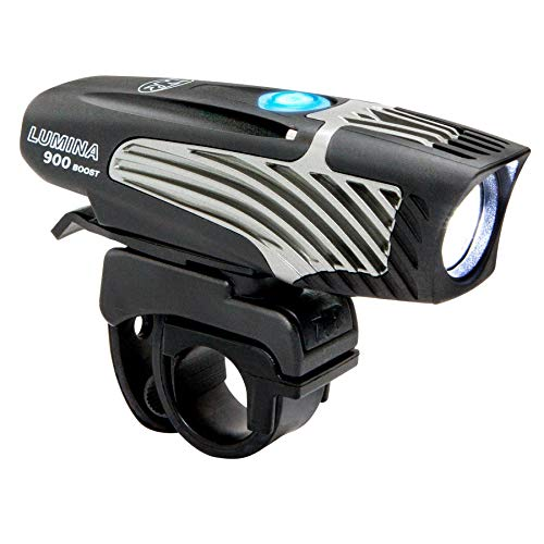 NiteRider Lumina 900  Boost USB Rechargeable MTB Road Commuter LED Bike Light Powerful Lumens Water Resistant Bicycle Headlight, LED Front Light Easy to Install Cycling Safety