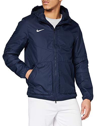 Nike Team Fall Jacket - Chaqueta unisex, color negro / blanco (obsidian/dark obsidian/white), talla S
