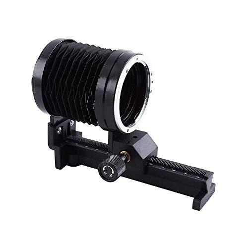 Yuyanshop Extensión de fuelle, macro fuelle lente trípode de montaje de fuelle para Canon EOS EF Mount Focus Camera 5D III 70D 700D 1100D