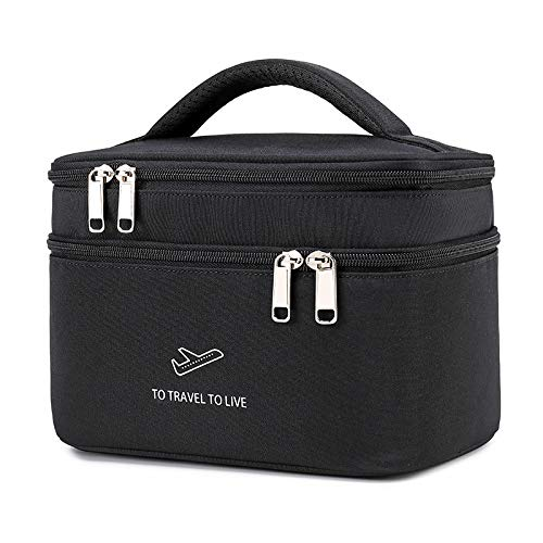 Toiletry Bag, Suitcase & Hand Luggage, Wash Bag, Travel Bag, Blue, Premium Toiletry Bag for Men and Women, Spacious Toiletry Bag, Women, 25.5 x 15 x 22 cm, Beauty Case