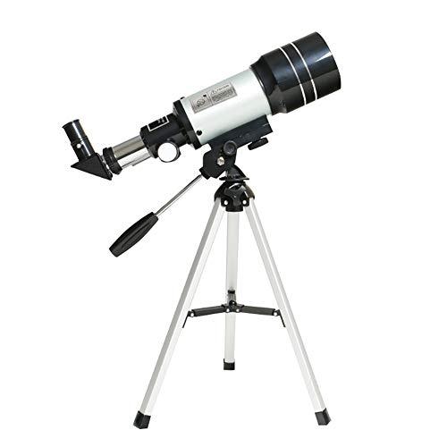 Amazing Deal Telescope for Kids Beginners,70mm Aperture 300mm AZ Mount Astronomical Refractor Telesc...