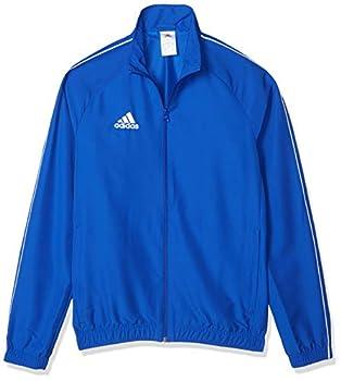 adidas Men s Core 18 Presentation Jacket Bold Blue/White Medium