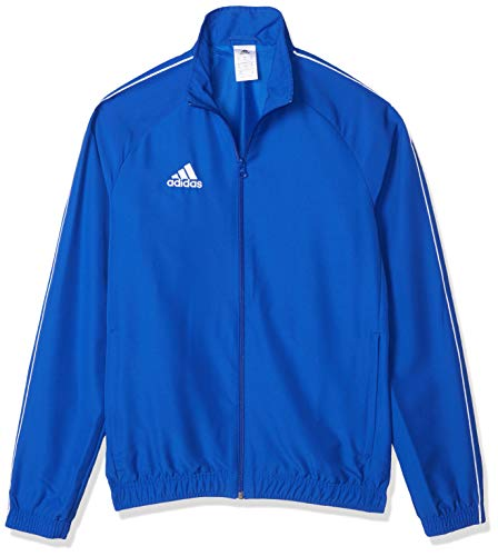adidas Men's Core18 Presentation Jacket, Bold Blue/White, Large