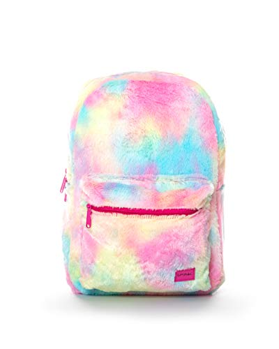 Spiral OG Rainbow Tie Dye Faux Fur Mochila Tipo Casual 44 Centimeters 18 Multicolor (Multicolour)
