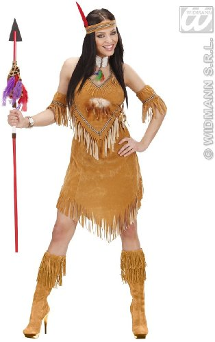 WIDMANN Desconocido Disfraz de India Apache Lujo Adulto