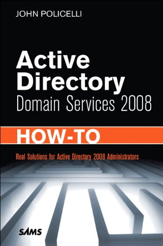 Active Directory Domain Services 2008 How-To (English Edition)