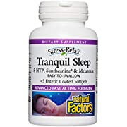 Natural Factors - Stress-Relax Tranquil Sleep - Supports Relaxation & Natural Sleep Quality