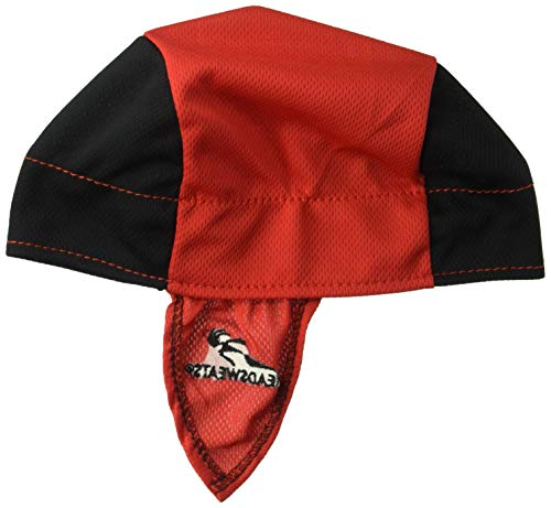 Headsweats Shorty Cycling Cap, Red, One Size