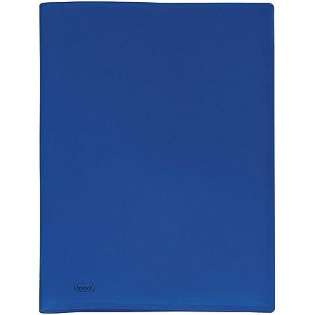 Favorit 100460276 Portalistino a 40 Buste, Blu, 22 x 30 cm