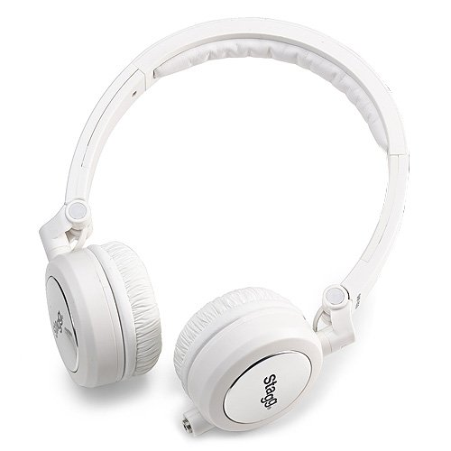 Kopfhörer Stagg - deluxe portable - headphones - SHP i500 - white