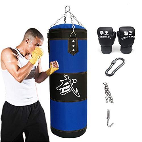 Aquarius CiCi Boxing Heavy Punching Training Bag Sandbags with Chains + Handbag Hook + Boxing Gloves...