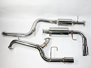 CORKSPORT 2010-2013 Mazdaspeed 3 - Cat-Back Exhaust - Stainless Steel T304 (Axl-6-100-10)