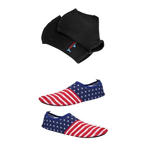 Injoyo Calzado De Playa De Secado Rápido para Adultos Calcetines Descalzos para...
