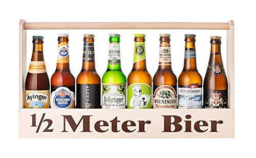 Halber Meter Bier (inkl. 8x 0,33l Bierspezialitäten)