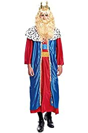 Disfraz Rey Mago Melchor hombre adulto para Navidad L: Amazon.es ...