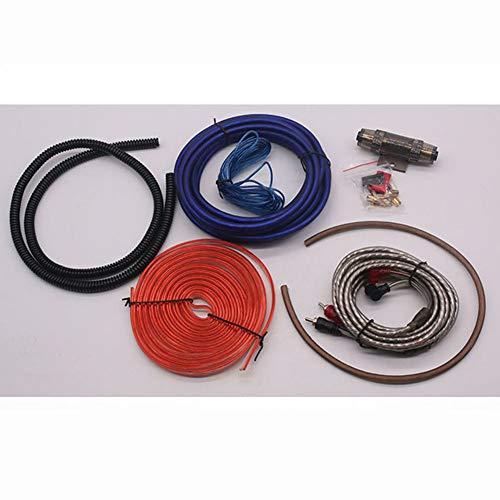 XuBa 6GA 8GA 10GA Auto-stereo versterker kabelset kopergecoat aluminium auto-uit, dio-subwoofer-kabelset 10 GA.