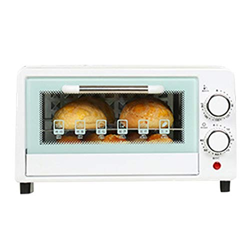 Minibackofen 12 L, 800W, 90-230°C, Mini Backofen Mit Zeitschaltuhr Backblech Grill, Kleiner Elektro Backofen Elektrische Mini-Backofen Pizzaofen