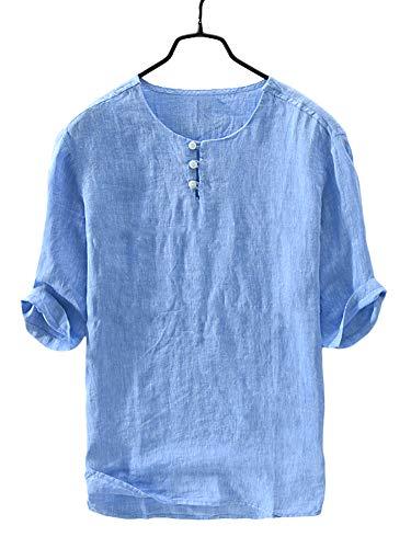 V-Neck Vintage Pullover - 3