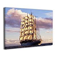 SkyDoor J パネル ポスターフレーム 船 海洋 インテリア アートフレーム 額 モダン 壁掛けポスタ アート 壁アート 壁掛け絵画 装飾画 かべ飾り 50×40