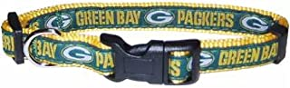 NFL DOG COLLAR. 32 NFL Teams available in 4 Sizes. Heavy-Duty, Strong & Durable NFL PET COLLAR. Football Gear for the Sporty Pup.