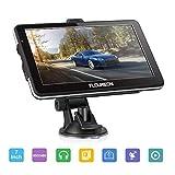 FLOUREON 7 Inch Capacitive LCD Touch Screen Car GPS Navigation SAT NAV Navigator