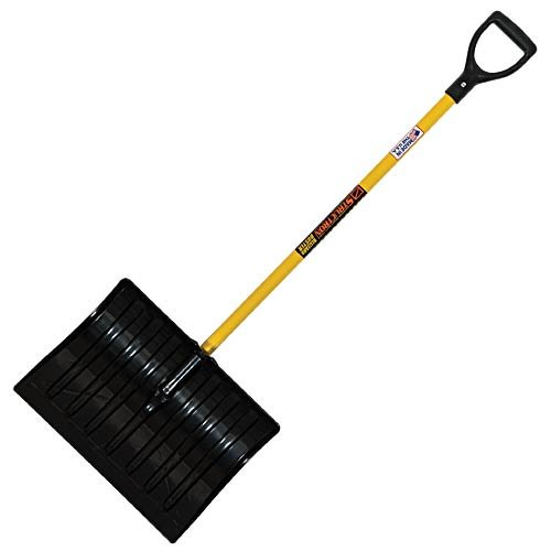 Best Prices! MRC Seymour Commercial Snow Shovel with Fiberglass Handle (18 Inch Blade, 44 Inch Handl...